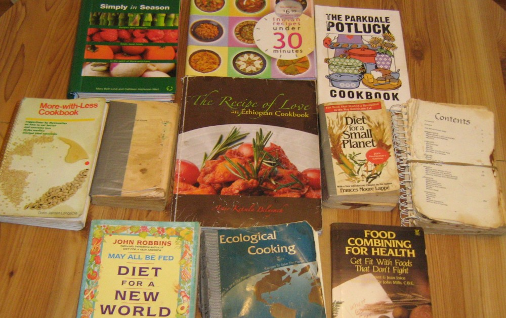 gluadys' cookbooks