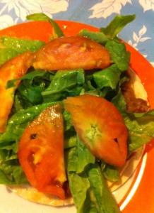 Salad with Ye Seleta Wiha