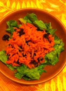 Carrot and Raison Salad