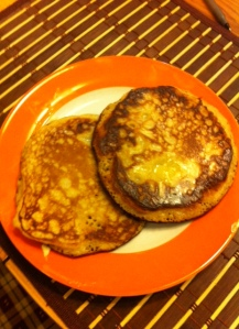 Pancakes from RSP mix