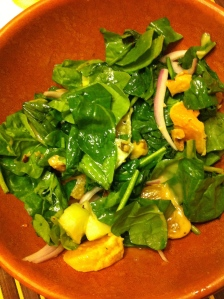 Baby Spinach & Orange Salad