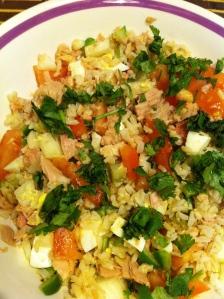 Angelica's German Rice Salad