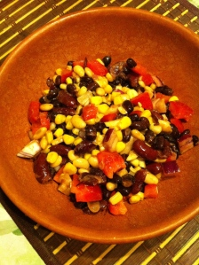Spicy Mixed Bean Salad