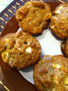 Elisha's Apple Cinnamon Muffins