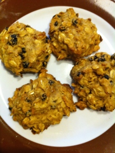 Carrot Currant Cookies