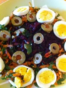 Shredded Beet Salad